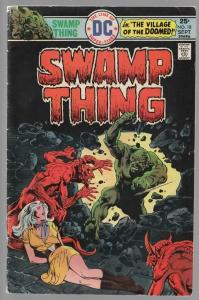 SWAMP THING 18 VG- Sept. 1975