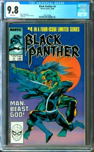 Black Panther #4 CGC Graded 9.8