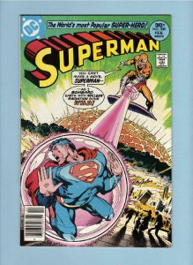 SUPERMAN #308, VF/NM, Nuclear Radiation gone Wild, 1939 1977, more SM in store