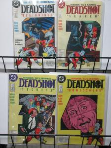 DEADSHOT 1-4  SUICIDE SQUAD SPIN-OFF!