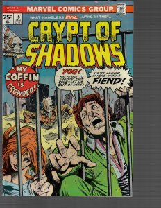 Crypt of Shadows #15 (Marvel, 1975) NM-