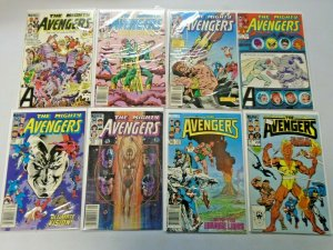 Avengers Comic Lot From #250-298 42 Diff Average 7.0 (Range 6.0 - 8.0) (1984-88)