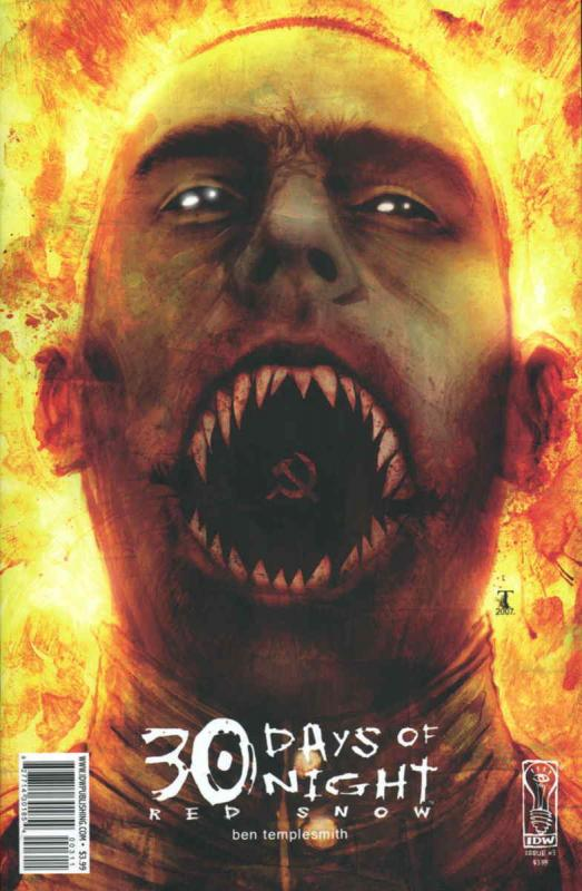 30 Days of Night: Red Snow #3 VF/NM; IDW | save on shipping - details inside