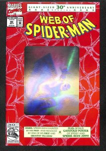 Web of Spider-Man #90 Hologram Cover!