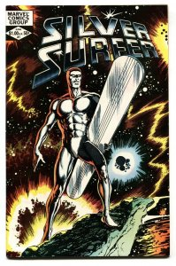 SILVER SURFER V.2 #1-1982 - MARVEL COMICS BYRNE COVER NM-
