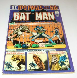 Batman #256 VG/FN 1974 DC Comic Book Bondage Cover Catwoman Robin Boy Wonder