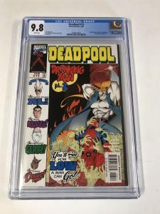 Deadpool (1997 series) #13 CGC 9.8