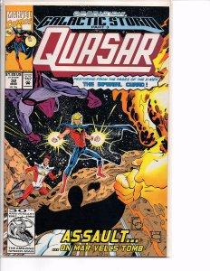 Marvel Comics Quasar #32 Galactic Storm Greg Capullo Art