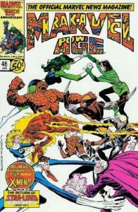 Marvel Age #46, NM- (Stock photo)
