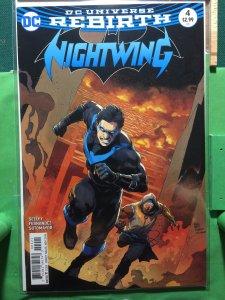 Nightwing #4 DC Universe Rebirth