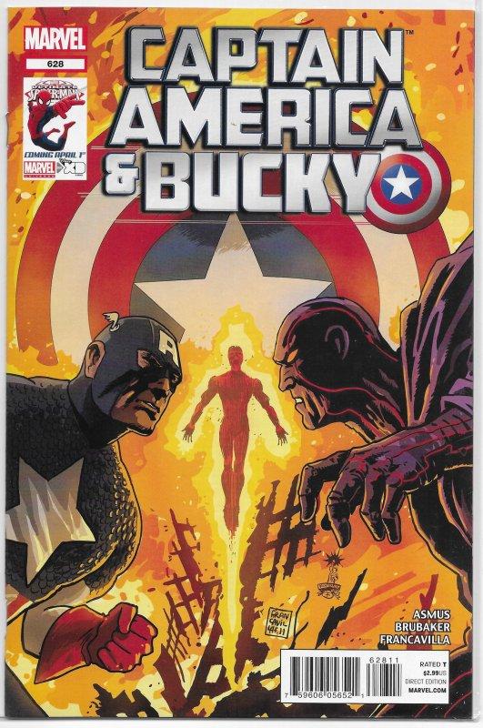 Captain America and Bucky   vol. 1   #628 VF
