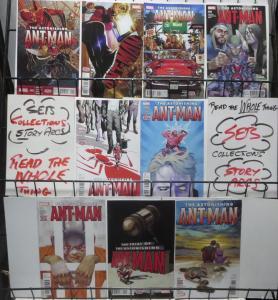 ASTONISHING ANT-MAN (MARVEL, 2015) #5-13 Nick Spencer, Ramon Rosanas VF-NM