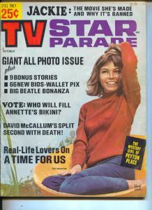 TV Star Parade-Pat Morrow-Elvis Presley-Dick Chamberlain-David McCallum-Oct-1965