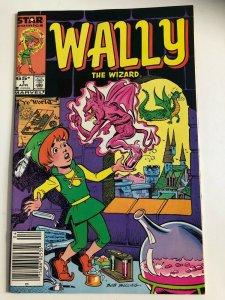 WALLY THE WIZARD #1 1985 MAERVEL / NEWSSTAND / VF+/-
