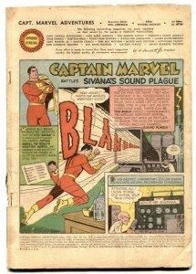 Captain Marvel Adventures #118 1951- coverless reading copy