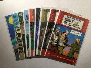 Official Jungle Jim 1-8 Annual 1 Near Mint Nm Pioneer