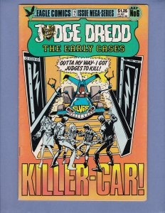 Judge Dredd The Early Cases #6 VG/FN Eagle Comics 1986