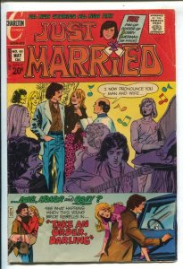 Just Married #85 1972-Charlton-hippie wedding cover-VG