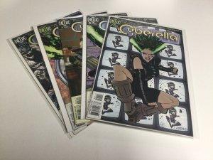 Cyberella 1-5 1 2 3 4 5 Fn Fine 6.0 Helix DC Comics