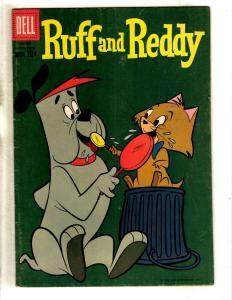 Four Color # 981 FN Dell Silver Age Comic Book Ruff And Reddy 1959 JL11