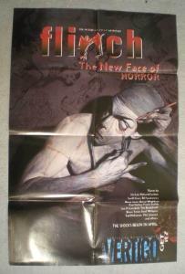 FLINCH Promo Poster, Vertigo, 22x34, 1999, Unused, more in our store