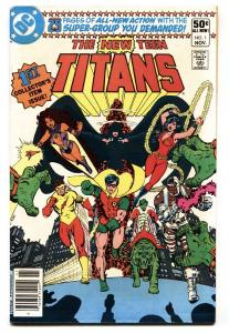 The New Teen Titans #1 comic book 1980  George Perez- Hot Issue VF/NM