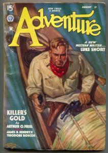 Adventure Pulp August 1 1935- Killer's Gold- Luke Short