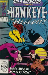 SOLO AVENGERS #9, VF/NM, Hawkeye, Hellcat, Marvel, 1987 1988  more in store