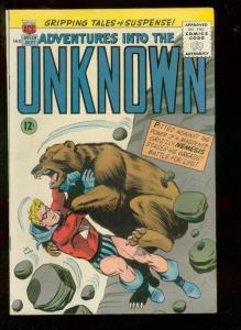ADVENTURES INTO THE UNKNOWN #159 1965-NEMESIS TIME TRAV FN