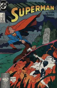 Superman (2nd Series) #23 VG; DC | low grade comic - save on shipping - details