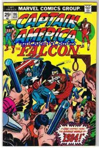 CAPTAIN AMERICA #195, VF, Jack Kirby, Falcon, 1968, more CA in store