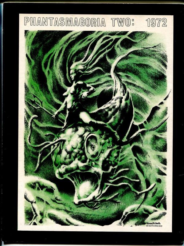 Phantasmagora #2 1972 -Kenneth Smith-professional looking fanzine-VF