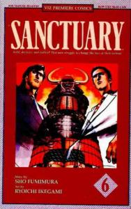Sanctuary Part 1 #6 VF/NM; Viz | save on shipping - details inside