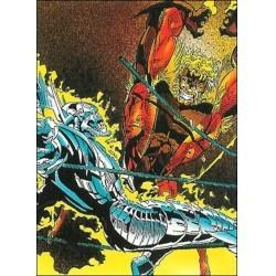 1992 Wolverine: From Then 'Til Now: Series 2 HEAVY METAL #81