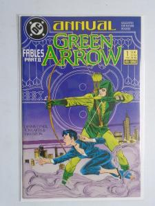 Green Arrow (1987 1st Series) Annual #1 - 8.0 VF - 1987