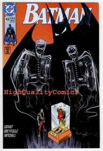 BATMAN #456, NM, Alan Grant, 1990, ScareCrow, Robin, Santa, more in store