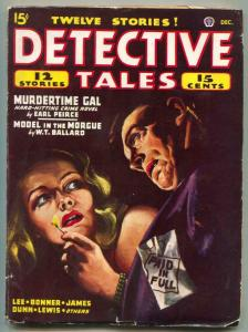 Detective Tales Pulp December 1946- Model in the Morgue