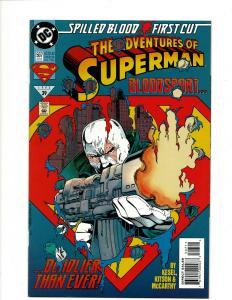 12 Superman DC Comics # 507 508 509 510 511 512 513 514 516 0 517 J408