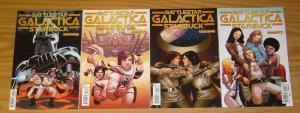 Classic Battlestar Galactica: Starbuck #1-4 VF/NM complete series - dynamite set