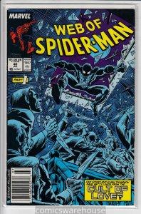 WEB OF SPIDER-MAN (1985 MARVEL) #40 VF A38397