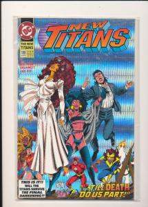 DC Comics New Titans The Darkening #100 VF (SIC650)