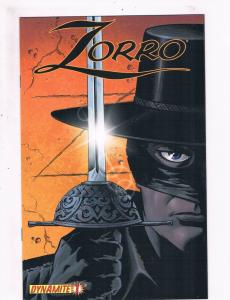 Zorro # 1 VF Dynamite Entertainment Comics The Masked Hero Awesome Issue!!!! SW5
