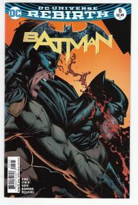 BATMAN (2016 DC) #5 NM-