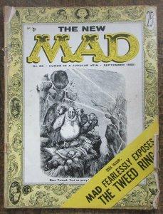MAD #25 (Sept. 1955) GOOD. Stan Freeberg! Steve Allen! Harvey Kurtzman!WallyWood