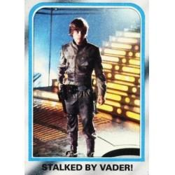 1980 Topps Star Wars The Empire Strikes Back STALKED BY VADER #215 EX/NM