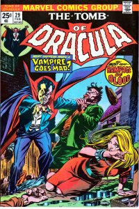 Tomb of Dracula(vol. 1) # 29 Doom for a Newly Wed !