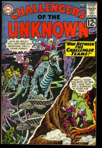 CHALLENGERS OF THE UNKNOWN #29-SEA HORSE CVR-HIGH GRADE VF/NM