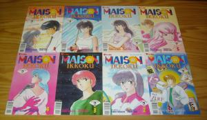 Maison Ikkoku part 8 #1-8 VF/NM complete series - viz select comics manga eight