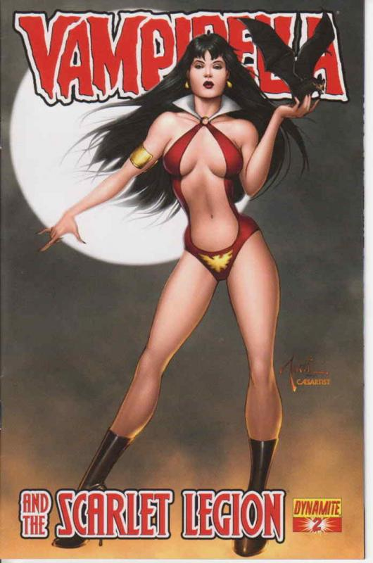 Vampirella and the Scarlet Legion #2A VF/NM; Dynamite | save on shipping - detai