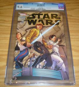 Star Wars #1 CGC 9.6 marvel comics - joe quesada variant (1:100) 2015 new